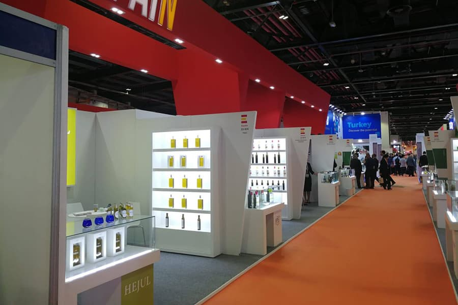 Hejul Olive Oil - Participation in GULFOOD 2019