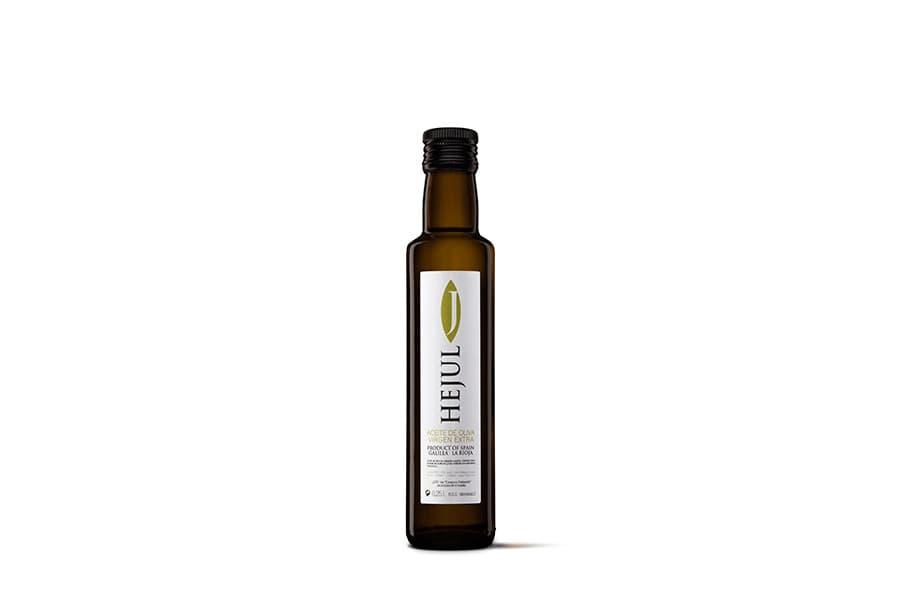 Aceite de oliva virgen extra Hejul Coupage Básico botella 25cl