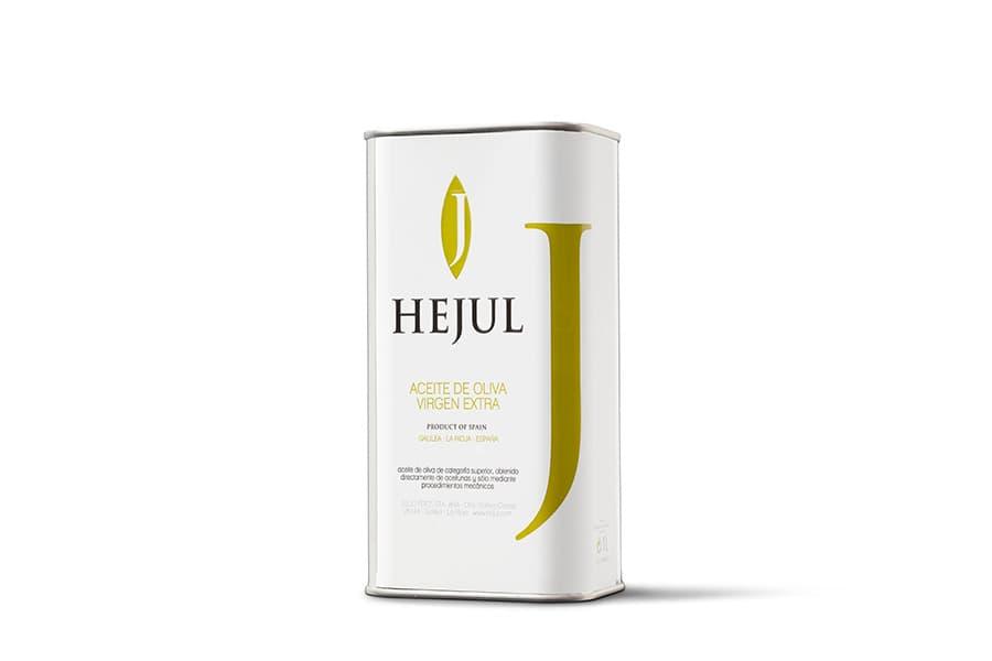 Aceite de oliva virgen extra Hejul Coupage Básico lata 1l