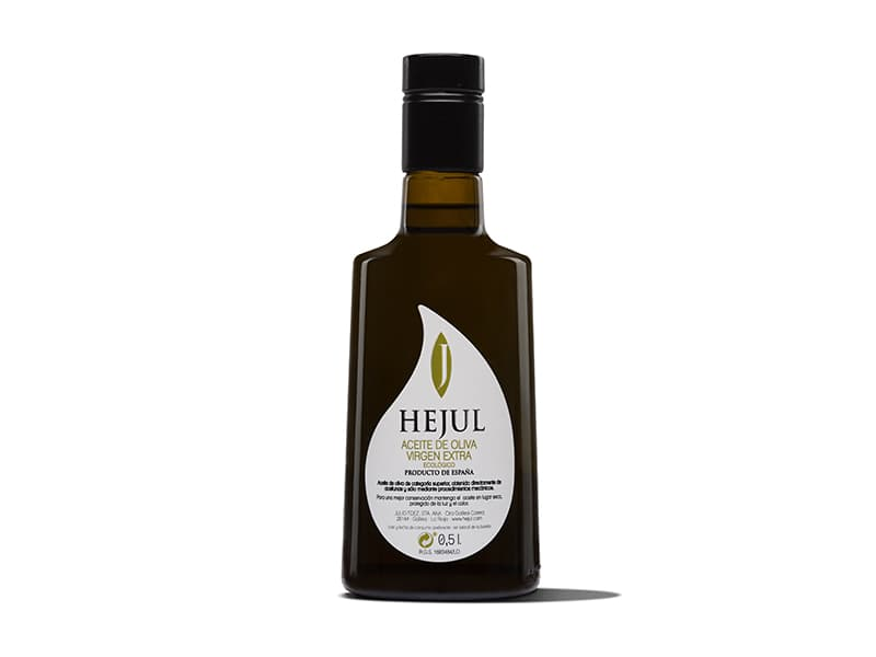 Extra virgin olive oil Hejul Coupage Basic bottle 50cl Bell